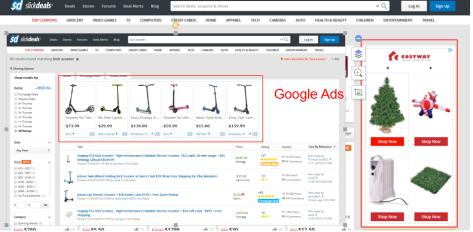 SD google ads